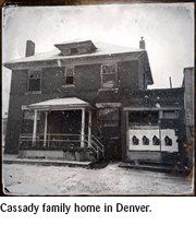 Cassady family home in Denver