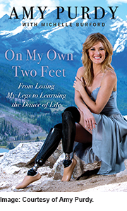 """""""On My Own Two Feet,"""" Amy Purdy"""